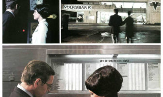 Werbeprospekt des ersten deutschen Geldautoamten von 1968