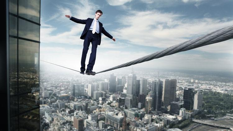 Balance und Gleichgewicht als Bankstrategie