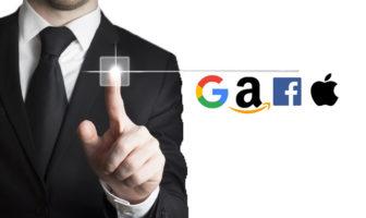 GAFAs bedrohen die Banken und Sparkassen