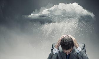 Gewitterwolken über der deutschen Wirtschaft