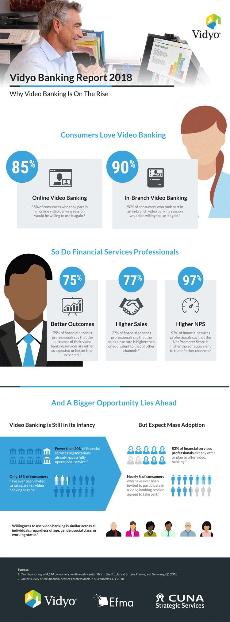 Infografik: Video-Banking 2018