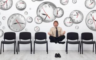 Gelassenheit und Geduld in Zeiten der Hektik