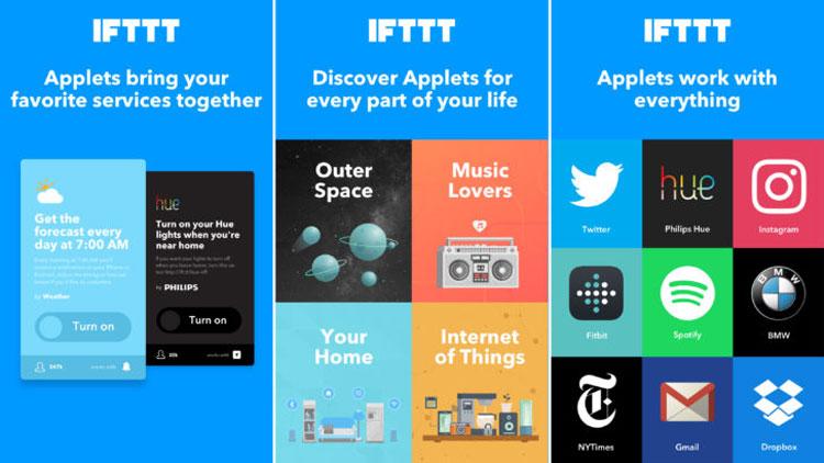 IFTTT ermöglicht die digitale Automatisierung im Alltag