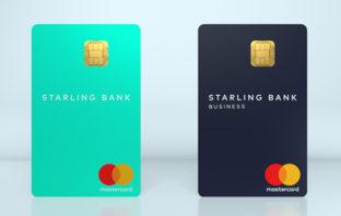 Bankkarte auf den Kopf gestellt