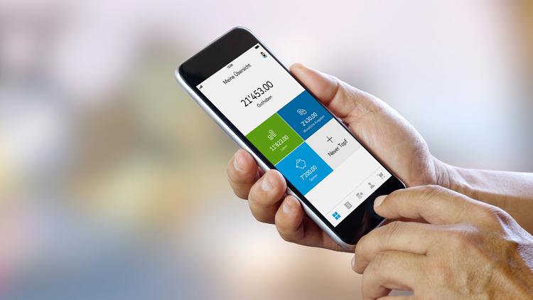 Smartphone Banking für Digital Natives