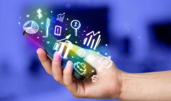 Bankkunden und Austausch persönlicher Daten