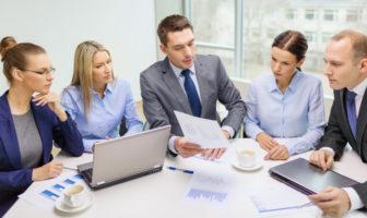 Sitzungen, Meetings und Telefonkonferenzen in Unternehmen