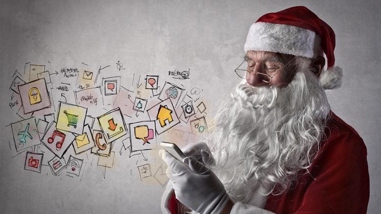 Digitalisierung des Weihnachtsfestes