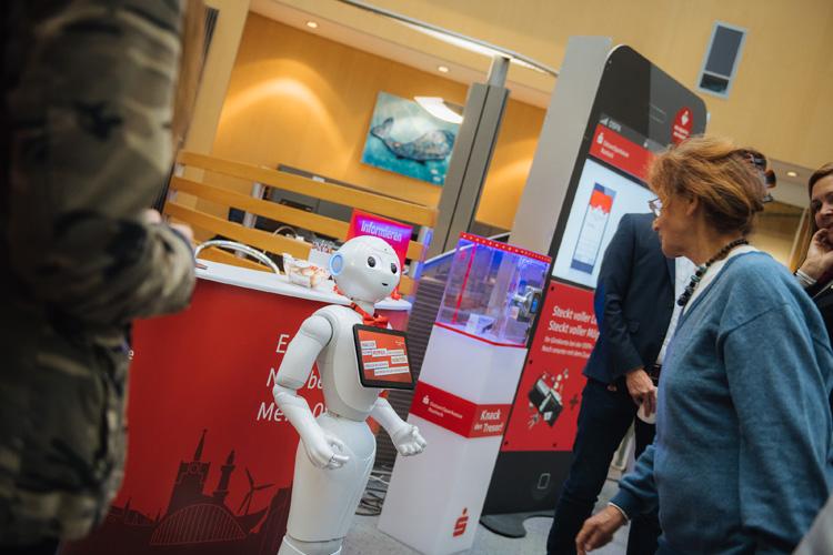 Rudi Pepper: Der humanoide Roboter