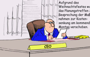 Der Bank-CEO und Weihnachten