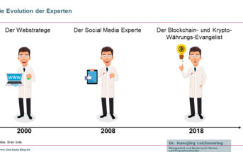 Die Evolution der Experten (2000 bis 2018)