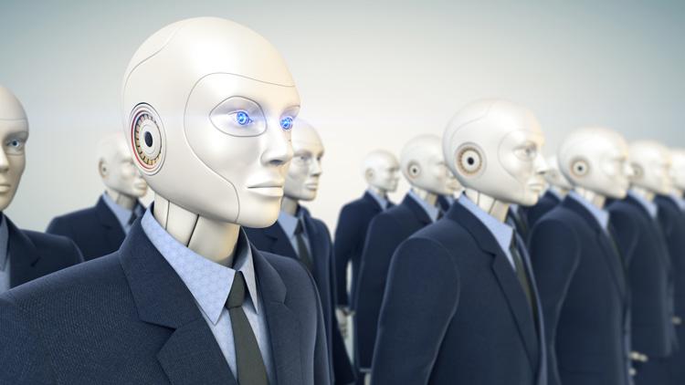 Kollege Roboter in Banken und Sparkassen