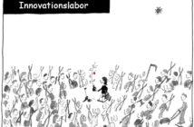 Cartoon: Innovationslabor als Ideenlieferant