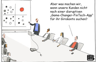 Cartoon: Grenzen der Innovation