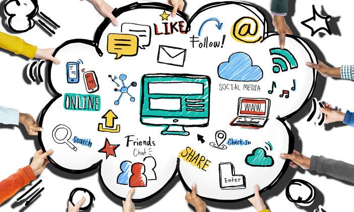 Vielzahl unterschiedlichster Aktivitäten im Internet