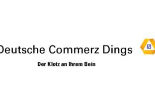 Deutsche Commerzbank: Logo und Markenclaim