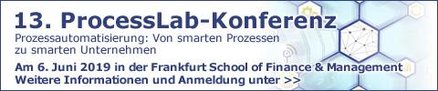 ProcessLab-konferenz der Frankfurt School of Finance am 6.6.2019