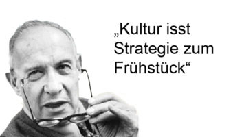 Culture eats strategy for breakfast - Peter F. Drucker