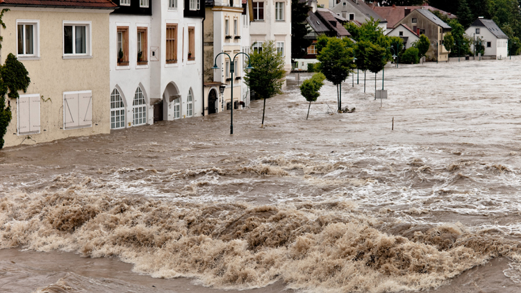 Finanzinstitute und die Risiken des Klimawandels