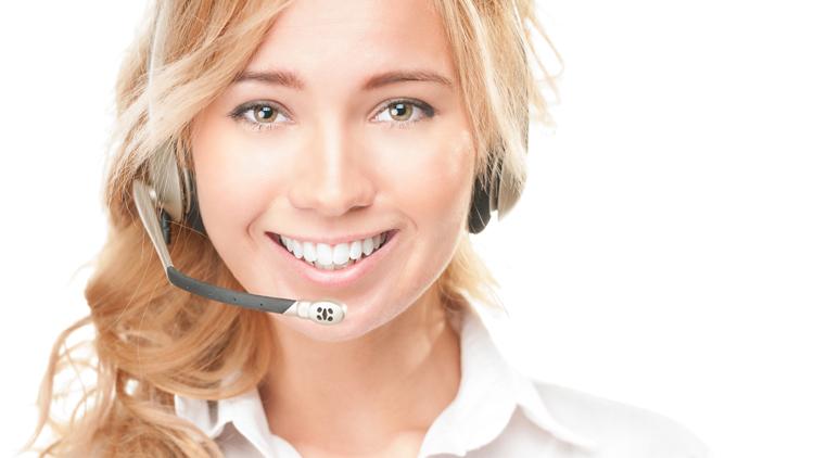Im Call Center kommt es auf freundlichen Kundenservice an