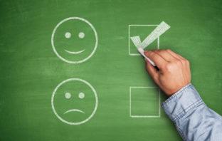 Auswertung des Tests für professionelles Bankmarketing
