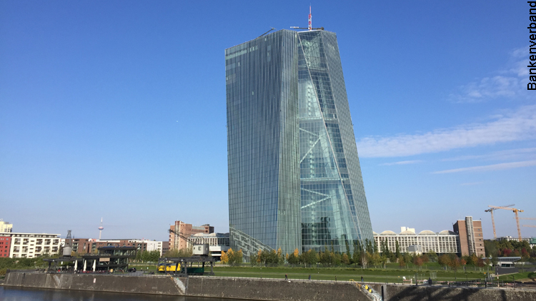 EZB-Tower in Frankfurt am Main