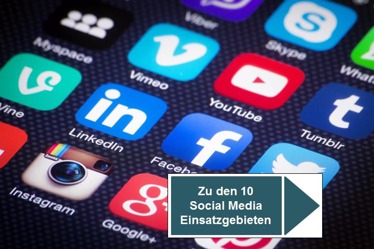 10 Bereiche in für einen erfolgreichen Einsatz von Social Media