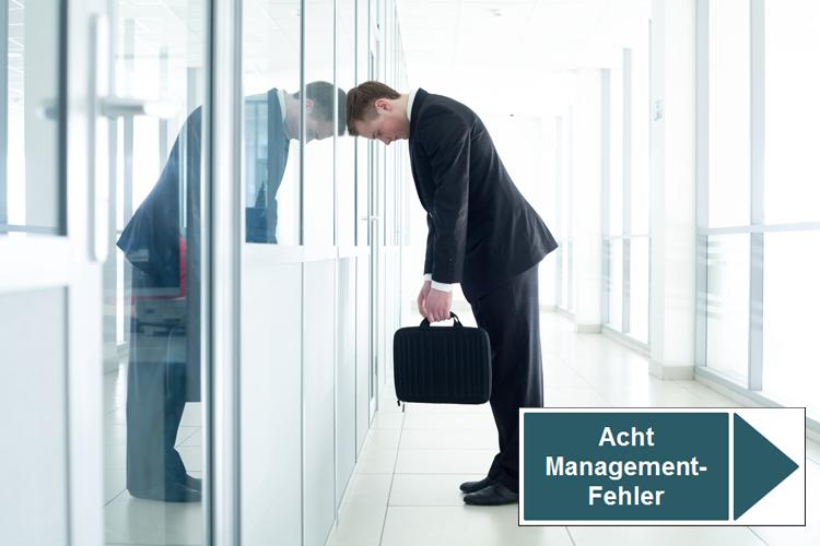 Acht zentrale Management-Fehler, die eine Bank ruinieren können