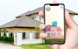 Die mobile Baufinanzierungs-App der 1822direkt nutzt Augmented Reality.