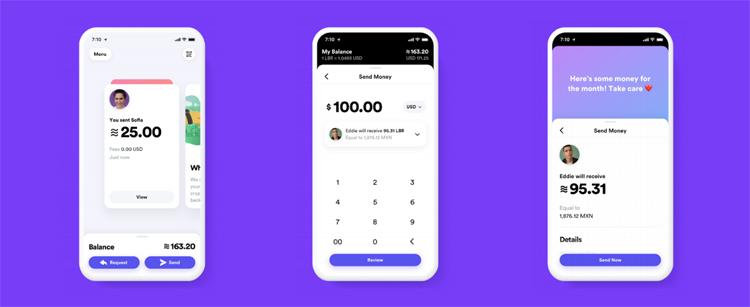 Calibra-Wallet ist eine einfache, intuitive App zum Geldversand