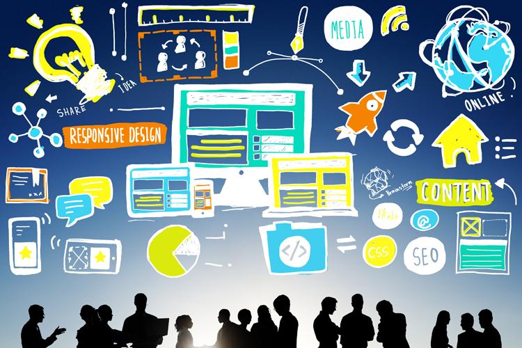 Content Marketing bedeutet Inhalte via Social Media teilen