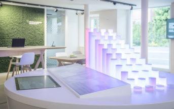 Schalterhalle der Filiale Balzers der Liechtensteinischen Landesbank