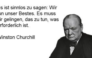 Was Winston Churchill angesichts der Coronakrise sagen würde.