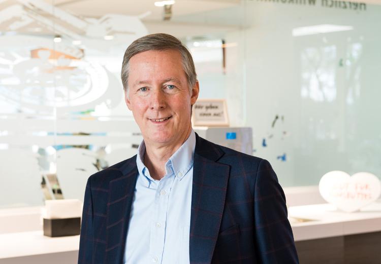 Harald Vogelsang, Vorstandssprecher der Haspa, im Interview