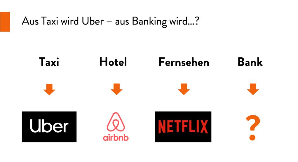 Aus Taxi wird Uber – aus Banking wird ?