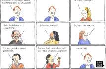 Cartoon: Die Tücken einer Videokonferenz