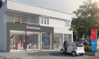 Gemeinsame Filiale von Taunus Sparkasse und Frankfurter Volksbank