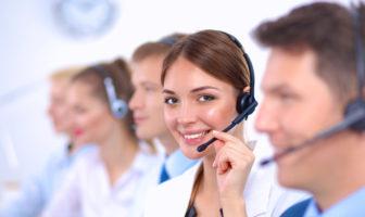 Kunden Service Center in Banken und Sparkassen