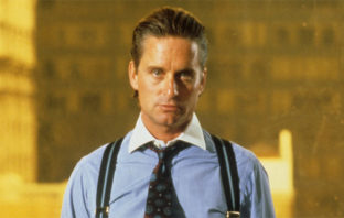 Michael Douglas als Gordon Gecko in Wall Street