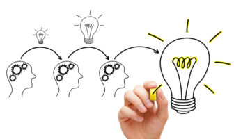 Brainstorming für einen neue Private Banking Claim