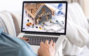 Online-Besichtigung von Immobilien für die Baufinanzierung