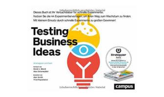 Buchtipp: Testing Business Ideas, von David Bland und Alexander Osterwalder