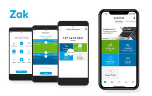 Zak: Die innovative Banking-App der Bank Cler
