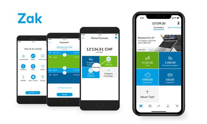 Zak: Die innovative Banking-App der Bank Cler