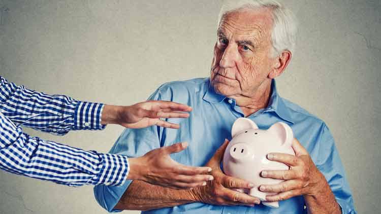 Schränkt Buchgeld die Verfügung über Bargeld ein?