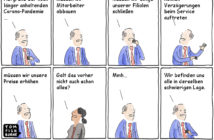 Cartoon: Konsequenzen der Corona-Krise – oder doch nicht?
