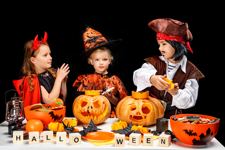 Vor allem Kinder lieben Halloween