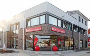 Die Landessparkasse zu Oldenburg setzt auf Bankfilialen