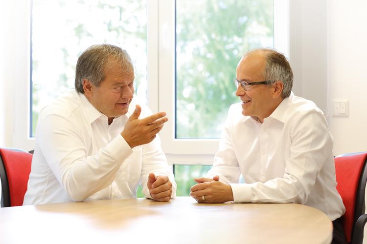 Bernward Egenolf und Harald Frühwacht – Gründer, IDL Software