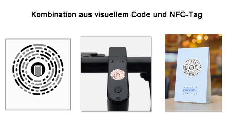 App Clip Code – Kombination aus visuellem Code und NFC-Tag